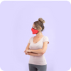 Reusable Guardians Red PM2.5 Mask (with Filter)