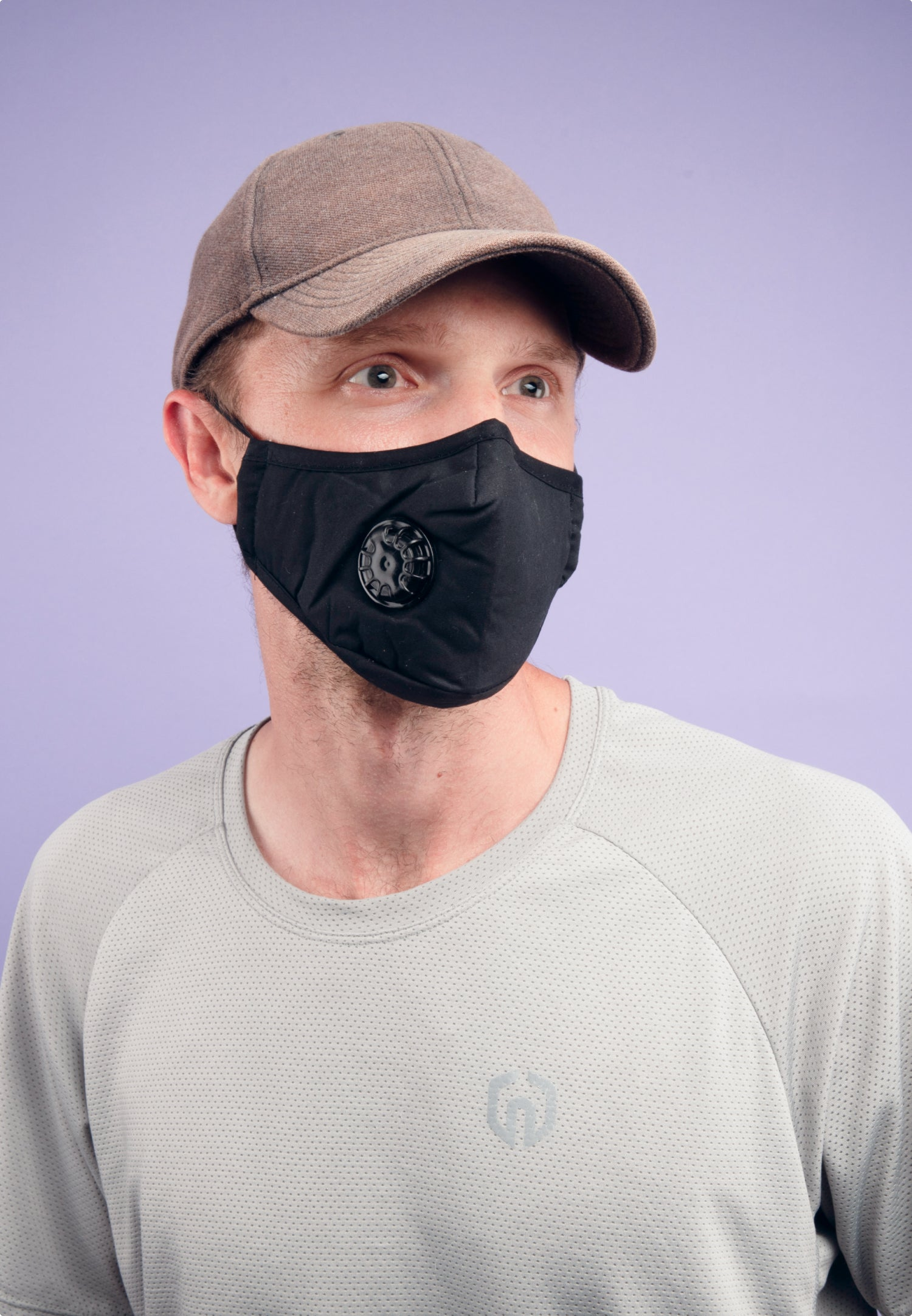 Reusable Black PM2.5 Mask (with Filter)