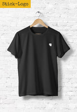 Load image into Gallery viewer, Toilet Paper T-Shirt in Black (embroidered) - Unisex