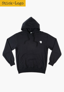 Toilet Paper Hoodie Black (embroidered)
