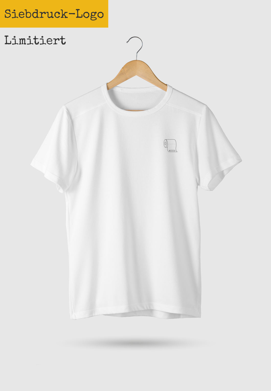 LIMITED - Toilet Paper T-Shirt White (printed) - Unisex
