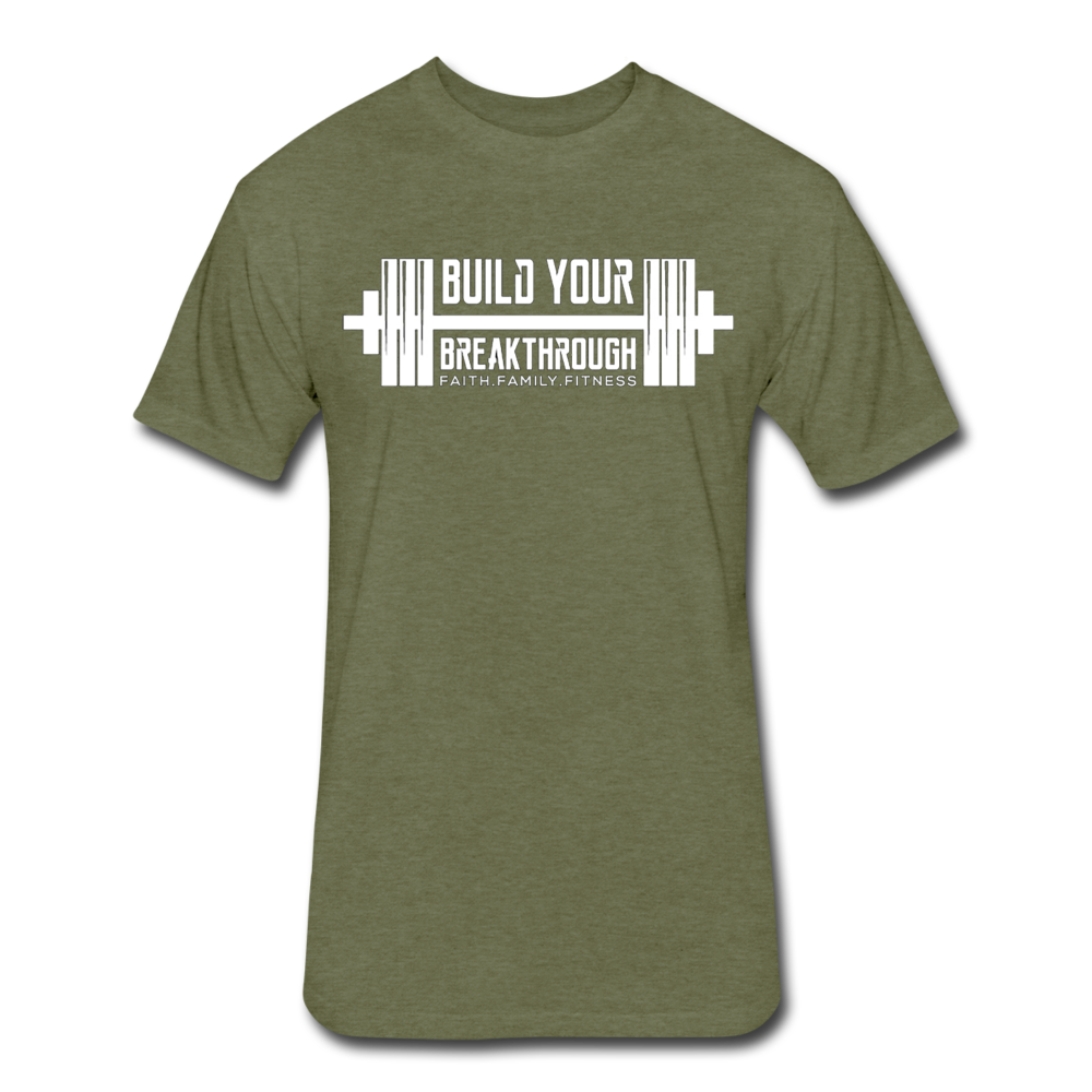STOP STARING T-Shirt - heather military green