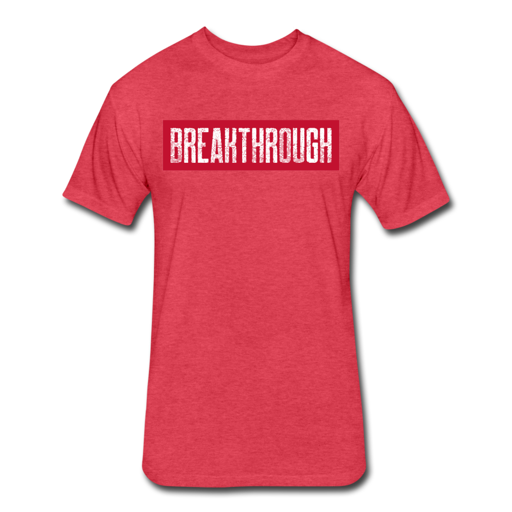 BREAKTHROUGH T-Shirt - heather red