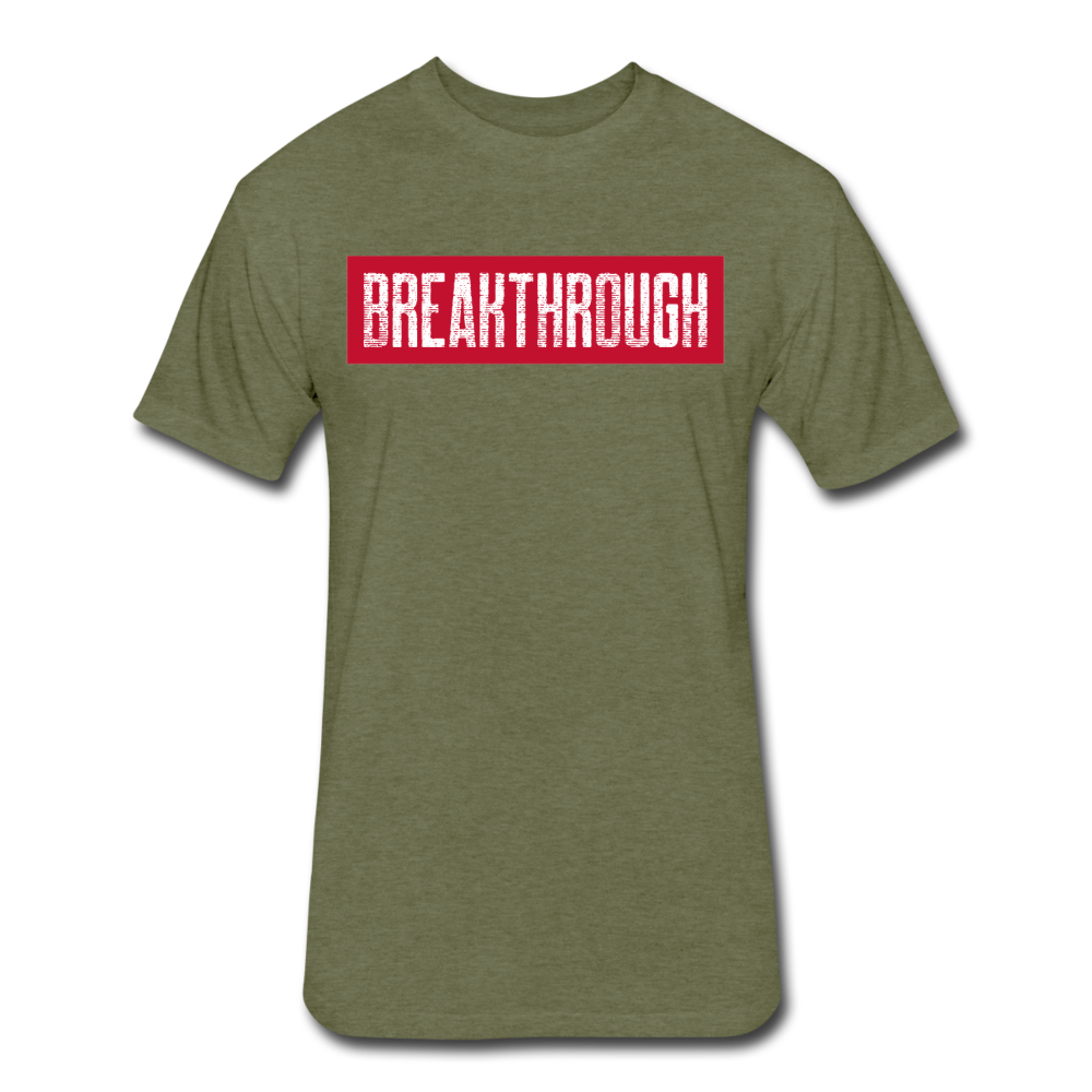 BREAKTHROUGH T-Shirt - heather military green