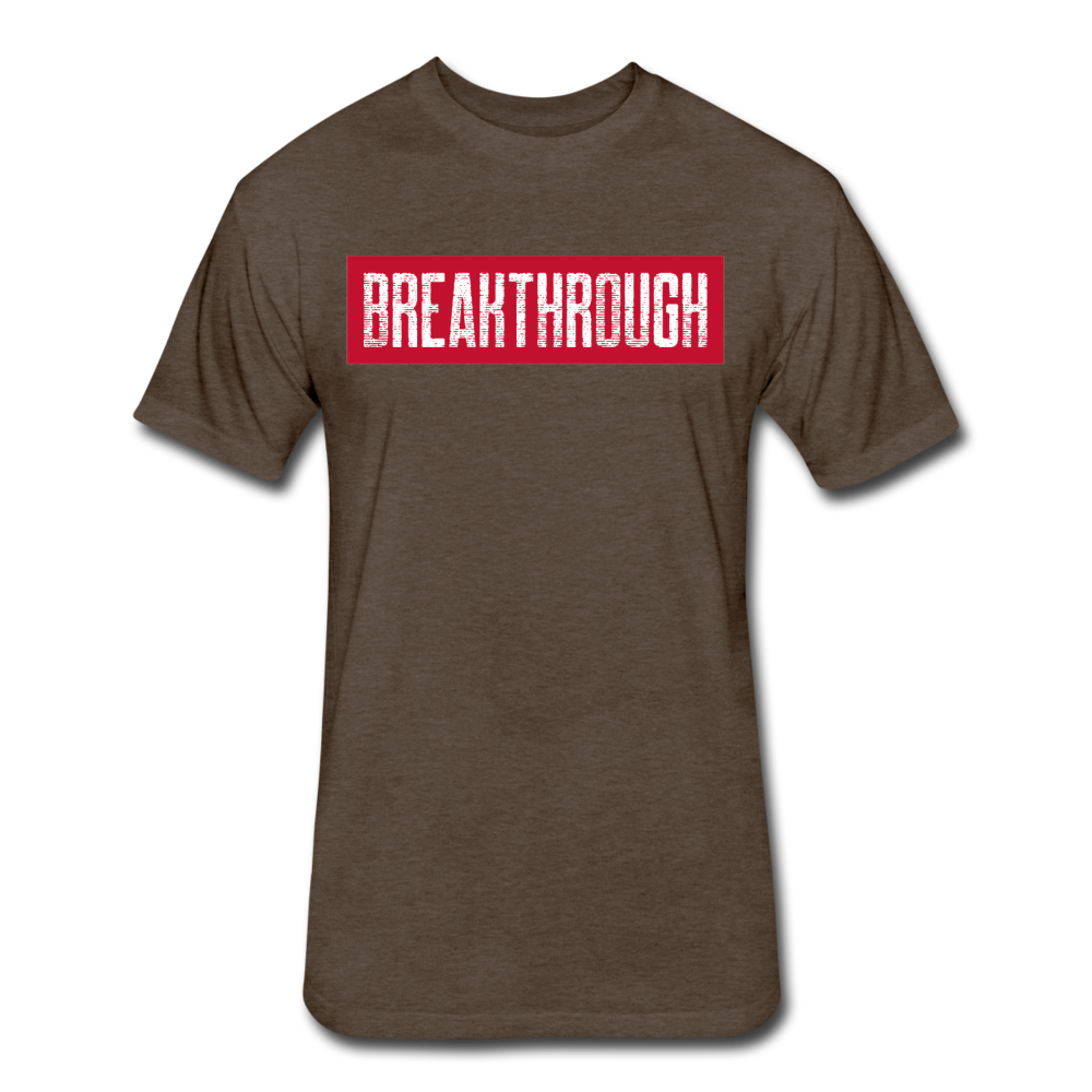 BREAKTHROUGH T-Shirt - heather espresso