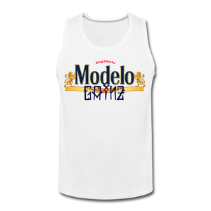 Open image in slideshow, Modelo Gainz Tank Top - white