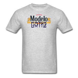 Modelo Gainz Fitted T-Shirt - heather gray