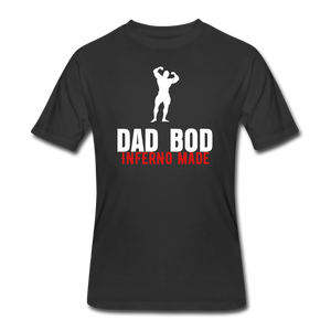 Open image in slideshow, Dad Bod Fitted T-Shirt - black