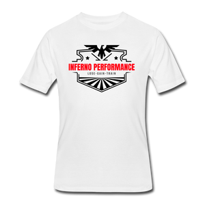 Inferno Performance Fitted T-Shirt - white