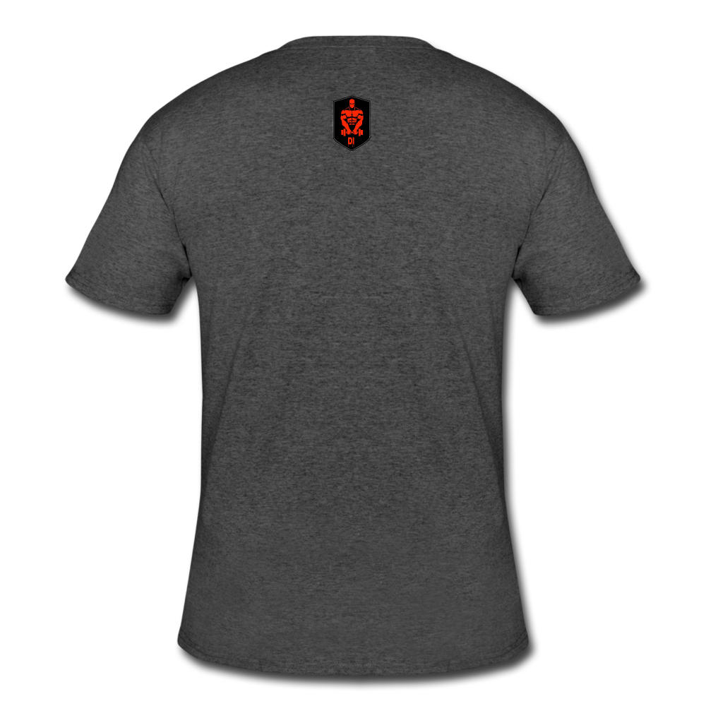 Inferno Performance Fitted T-Shirt - heather black