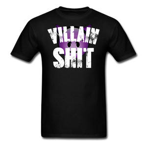 Open image in slideshow, VILLAINS T-SHIRT - black