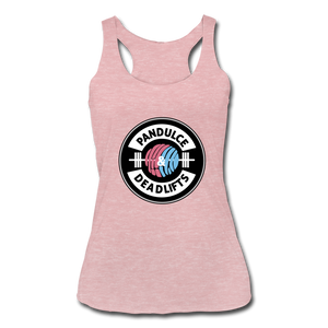 Pan Dulce Tank Top Blk - heather dusty rose