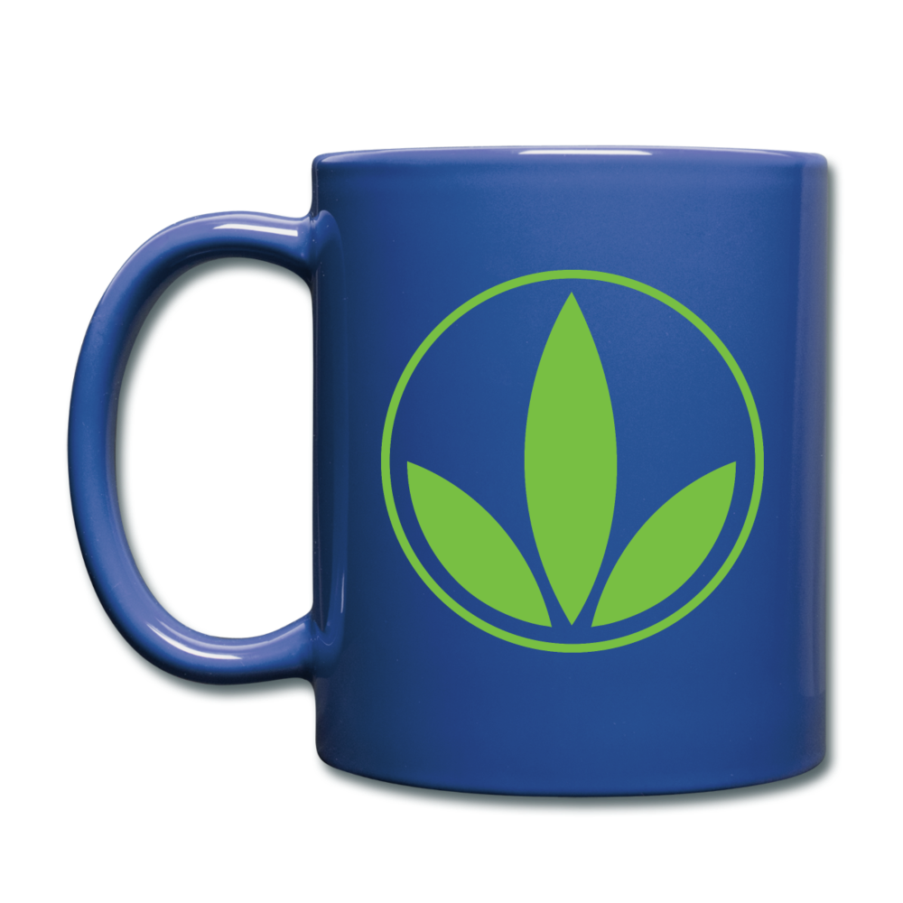 Black Herbalife Coffee/Tea Mug - royal blue