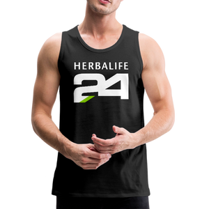 Open image in slideshow, Men's Herbalife 24 Premium Tank Blk - black