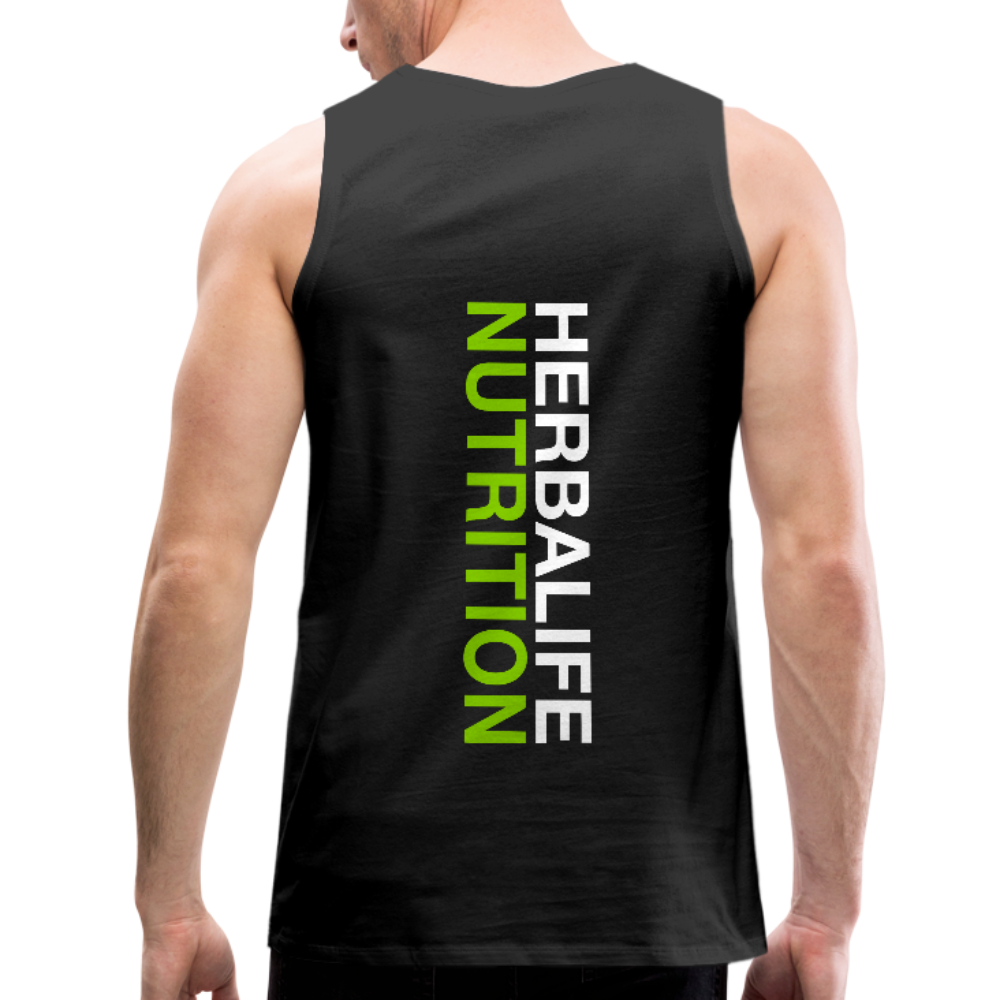 Men's Herbalife 24 Premium Tank Blk - black
