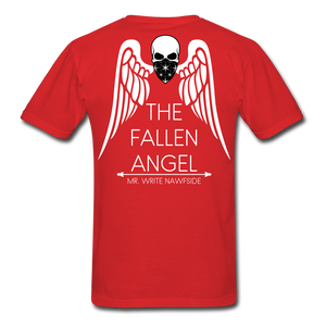 Open image in slideshow, FALLEN ANGEL WHT - red
