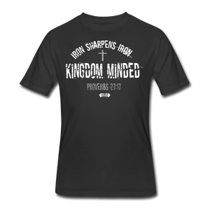 Kingdom Minded Tee WHT - black