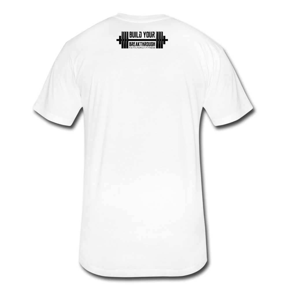 Born Sinner Fitted T-Shirt - white
