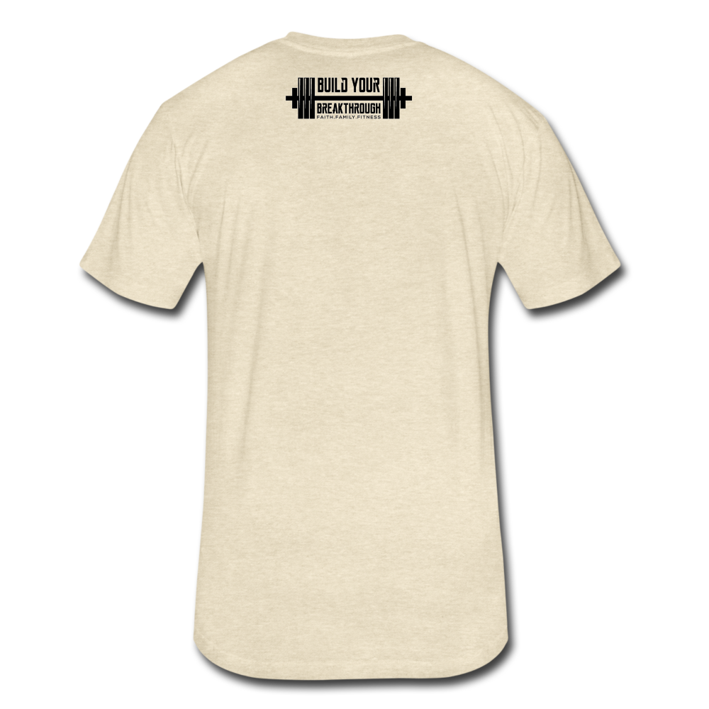 Born Sinner Fitted T-Shirt - heather cream