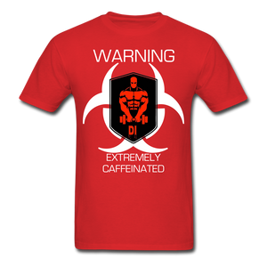 Open image in slideshow, WARNING T-Shirt 2 - red