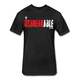 Unbreakable Fitted T-Shirt - black