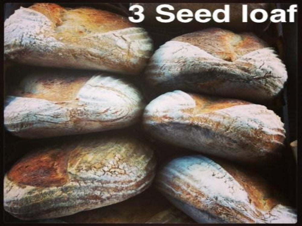 "CSA Add On - Companion bakeshop ""3 seed"" loaf"