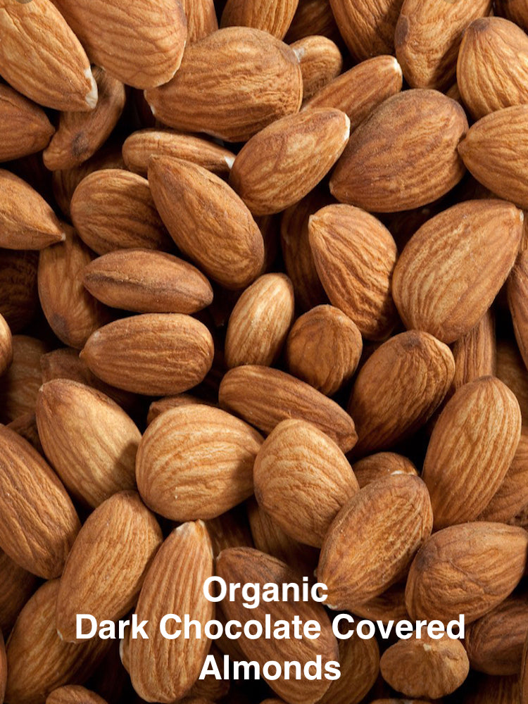 CSA Add On - Organic Almonds Dark Chocolate Covered