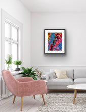 Load image into Gallery viewer, Lichen pink abstract