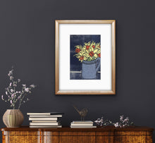 Load image into Gallery viewer, Daffodils - dark blue