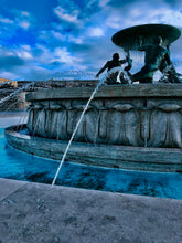 Load image into Gallery viewer, Triton's Fountain in blue