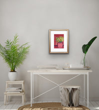 Load image into Gallery viewer, Daffodils - pink and dark blue