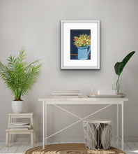 Load image into Gallery viewer, Daffodils - navy blue