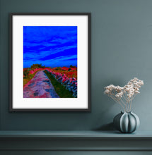 Load image into Gallery viewer, Seaview in pink and blue