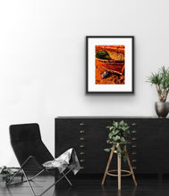Load image into Gallery viewer, Spicy orange fishing boat