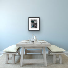 Load image into Gallery viewer, Grey & turquoise fishing boat