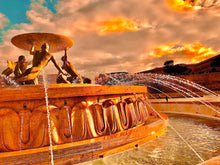 Load image into Gallery viewer, Triton's Fountain in orange