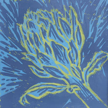 Load image into Gallery viewer, Artichoke - blue and yellow