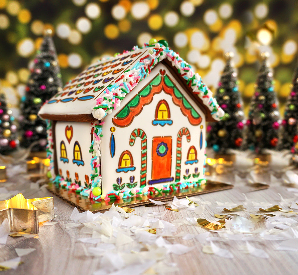 Building Your PYO Gingerbread House