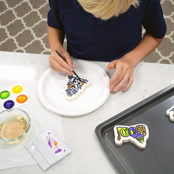 Making and Decorating PYO (Paint Your Own) Cookies