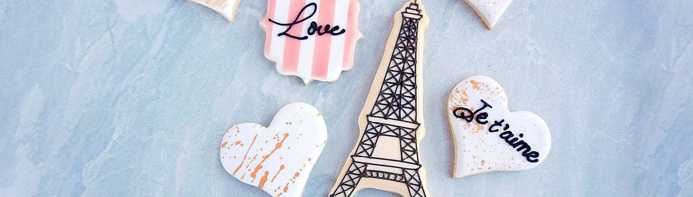 Paris, je t'aime Cookies