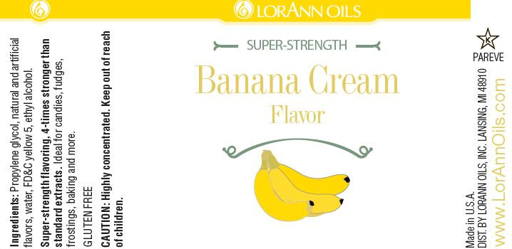 Banana Bakery Emulsion - 4 oz.