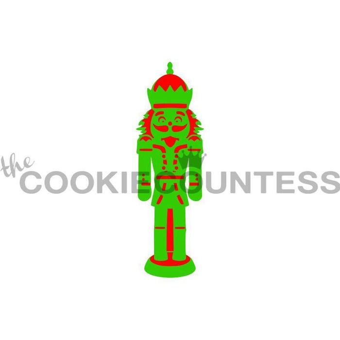 2 Piece Nutcracker Stencil