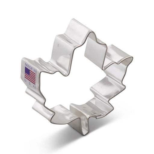 "Maple Leaf Cookie Cutter 3 1/8""  *92*"