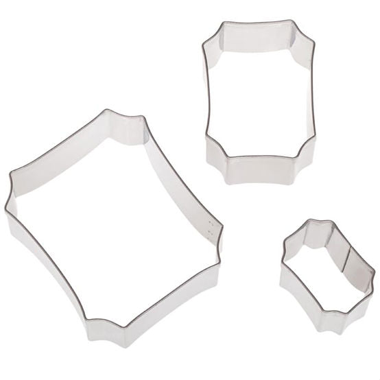 Cookie Cutter Set - 3 piece Plaques