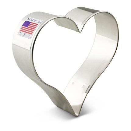 "Heart Cookie Cutter 3 1/4"" *176*"