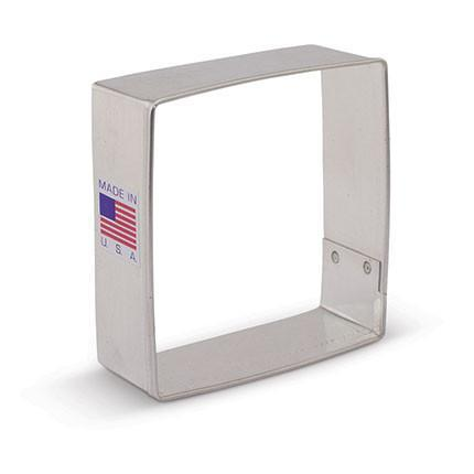 Square Cookie Cutter 2 1/2""