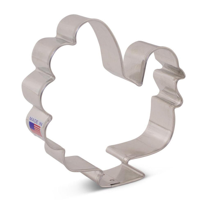 "Large Turkey Cookie Cutter 3 5/8"" *239*"