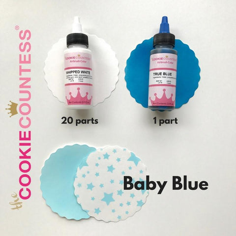 Cookie Countess airbrush colors - Essentials set of 12