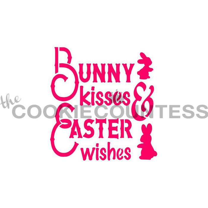 Bunny Kisses Stencil