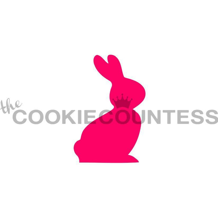 Single Bunny Silhouette Stencil